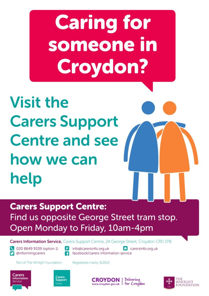 Carers Support Centre poster