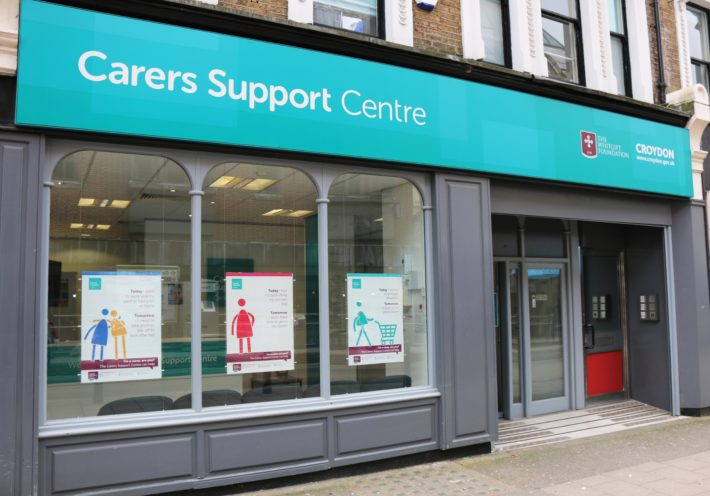 carers support centre building exterior