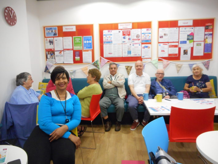 carers in the Carers Cafe