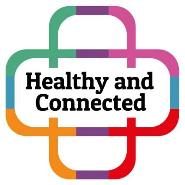 carers week Healthy and Connected logo