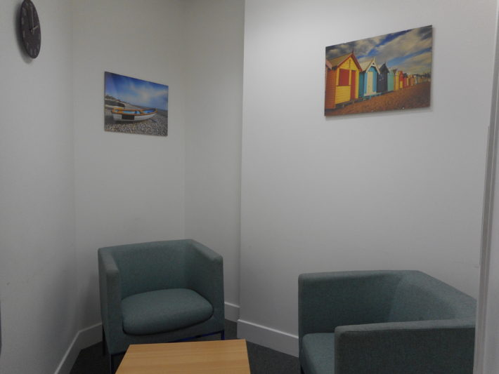 consultation room two not in use