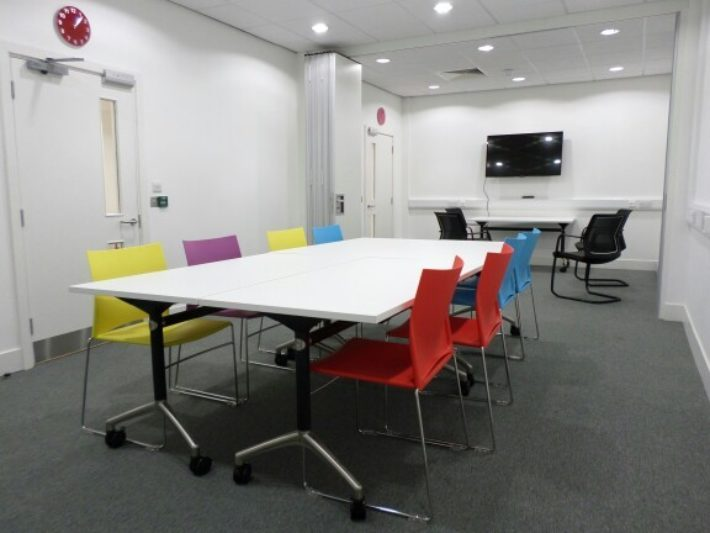 meeting room three in boardroom style