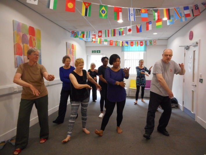 carers doing Tai Chi